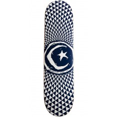 Foundation Star and Moon Blue Skateboard Deck - 8.00""