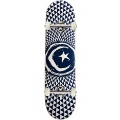 Foundation Star and Moon Blue Skateboard Complete - 8.00""