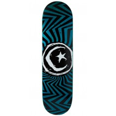 Foundation Star and Moon Zig Zag Skateboard Deck - 8.375""