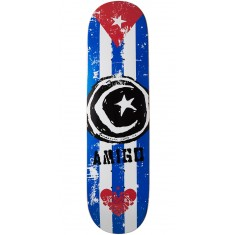 Foundation Star & Moon Cuba Skateboard Deck - 8.25""