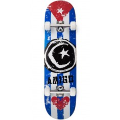 Foundation Star & Moon Cuba Skateboard Complete - 8.25""
