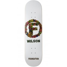 Foundation Wilson Flower Skateboard Deck - 8.125""