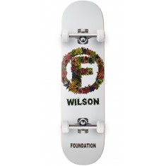 Foundation Wilson Flower Skateboard Complete - 8.125""