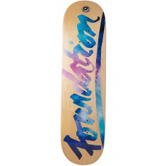 Foundation Script Space Skateboard Deck - 8.25""