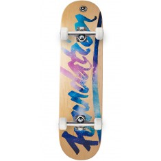 Foundation Script Space Skateboard Complete - 8.25""