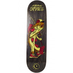 Foundation Campbell Gone Fishin Skateboard Deck - 8.50""
