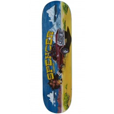 Foundation Spencer Wild Ride Skateboard Deck - 8.375""