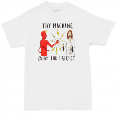 Toy Machine Bury The Hatchet II T-Shirt - White