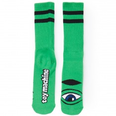 Toy Machine Sect Eye III Socks - Kelly