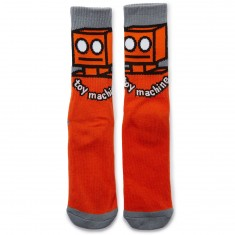 Toy Machine Robot Socks - Orange