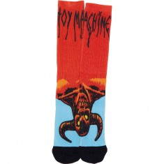 Toy Machine Hell Monster Socks - Orange