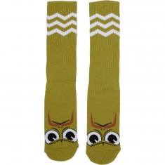 Toy Machine Turtleboy Stache Socks - Green