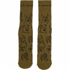 Toy Machine Friends Socks - Army