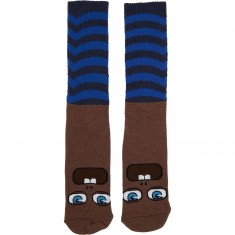 Toy Machine Fooser Socks - Blue