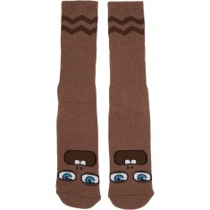 Toy Machine Fooser Socks - Brown