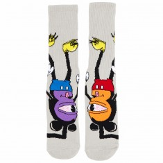 Toy Machine Mousketeer Socks - Black