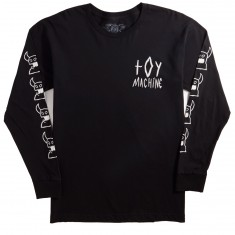 Toy Machine Monster Scrawl Long Sleeve T-Shirt - Black