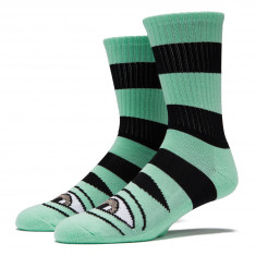 Toy Machine Sect Eye Big Stripe Socks - Mint