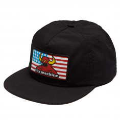Toy Machine American Monster Unstructured Hat - Black
