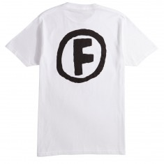 Foundation Doodle F T-Shirt - White