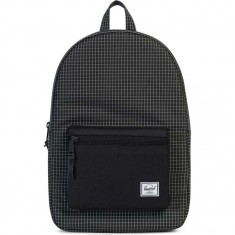 Herschel Settlement Backpack - Black Grid