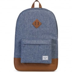 Herschel Heritage Backpack - Dark Chambray Crosshatch