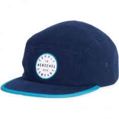 Herschel Supply Glendale Polar Fleece Hat - Navy/Ocean Depths