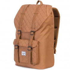 Herschel Supply Little America Backpack - Quiltpoly Caramel