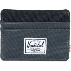 Herschel Supply Charlie Wallet - Dark Shadow/Black
