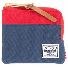 Herschel Supply Johnny Wallet - Navy/Red