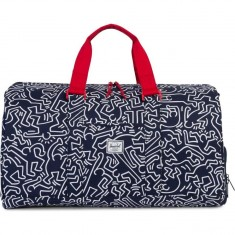 Herschel Novel Keith Haring Duffle Bag - Peacoat