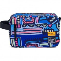 Herschel Chapter Bag - Abstract Geo Blue