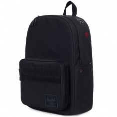 Herschel X Independent Pop Quiz Backpack - Black/Logo Print