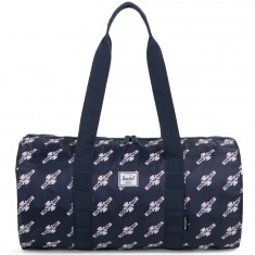 Herschel X Independent Duffle Bag - Navy/FTR Print