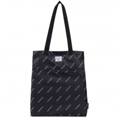 Herschel X Independent Tote Bag - Black/FTR Print