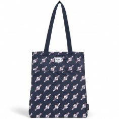 Herschel X Independent Tote Bag - Navy/FTR Print