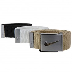 Nike 3 Web Pack Belt - Black/White/Tan