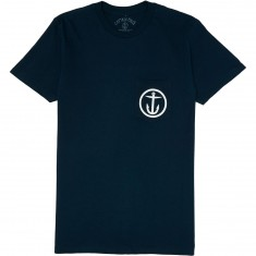 Captain Fin New Wave Pocket T-Shirt - Navy/White