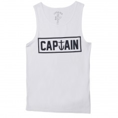 Captain Fin Naval Captain Tank Top - White