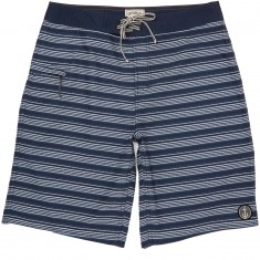 "Captain Fin Frequency 21"" Boardshorts - Navy"