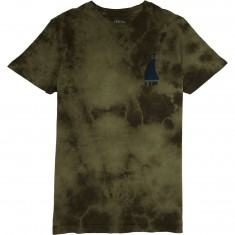 Captain Fin Sharky T-Shirt - Olive Tye Dye
