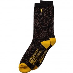 Grizzly National Park Socks - Black