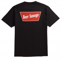 Beer Savage Banquet T-Shirt - Black