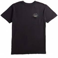 Roark Fear the Sea Pocket T-Shirt - Black