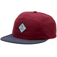 Roark Crusher Hat - Burgundy