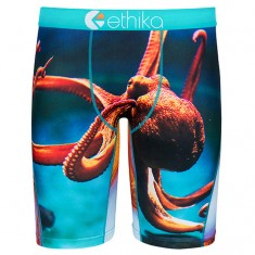 Ethika Whats Kraken Underwear - Blue/Orange