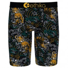 Ethika Gold Tiger Boxer Brief - Gold