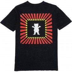 Grizzly Reflect OG Bear T-Shirt - Mineral Black