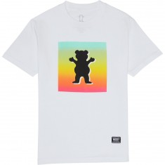 Grizzly Poster OG Bear T-Shirt - White