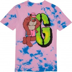 Grizzly Beachbum T-Shirt - Cotton Candy Tie Dye